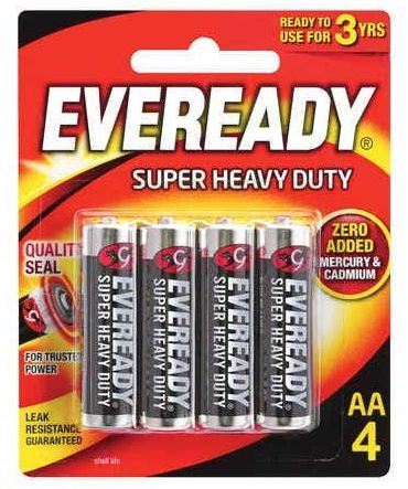 Eveready batteries review