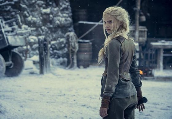 Still of Ciri from Season 2 of The Witcher