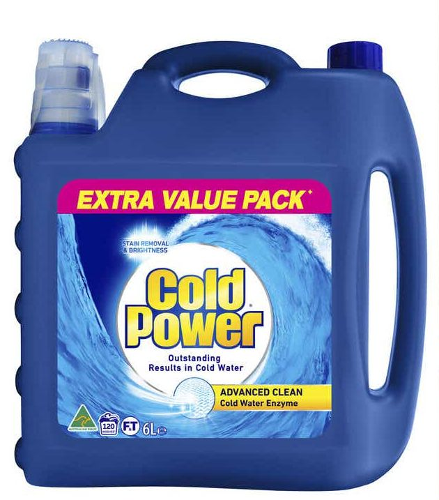 Cold Power laundry liquid review