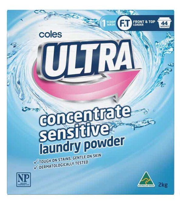 Coles Ultra laundry powder review