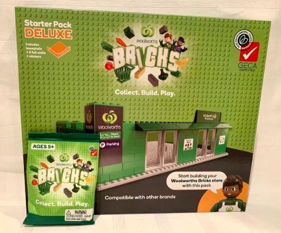 Woolworths Bricks starter kit