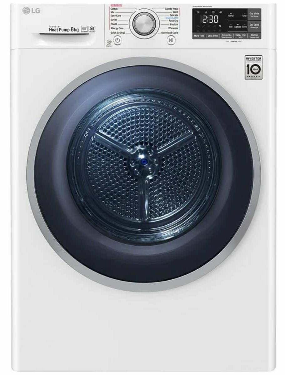 LG clothes dryer review