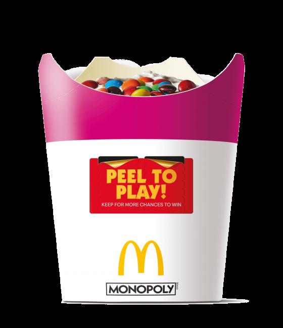 Monopoly Game McFlurry