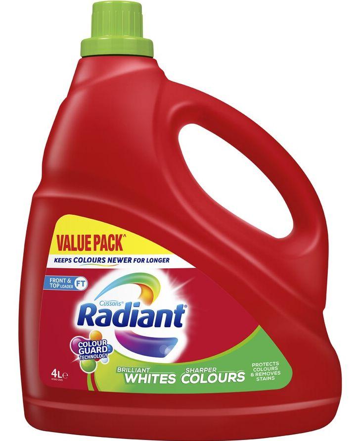 Radiant laundry liquid review