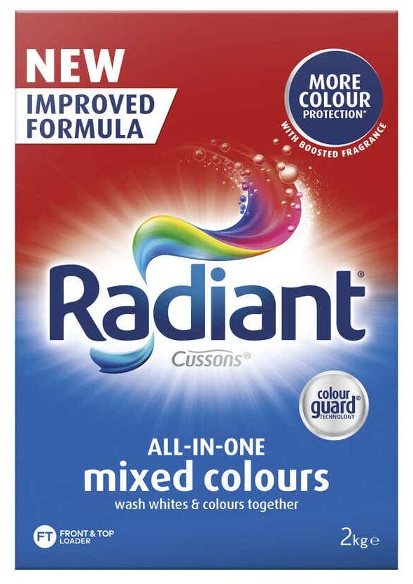 Radiant laundry powder review