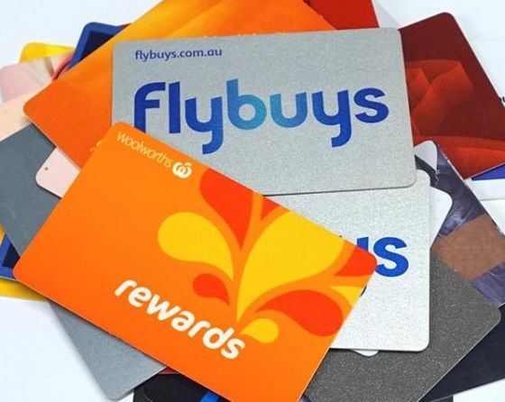 Woolworths rewards card