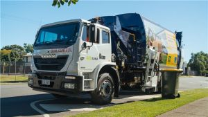 Suez Rubbish Truck