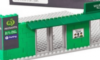 Woolworths Bricks new collectables