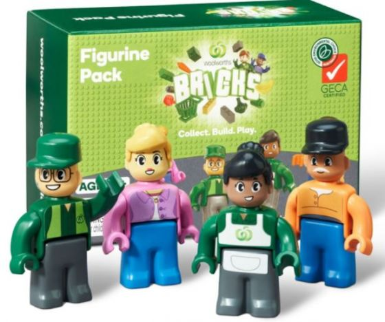Woolworths new green collectables