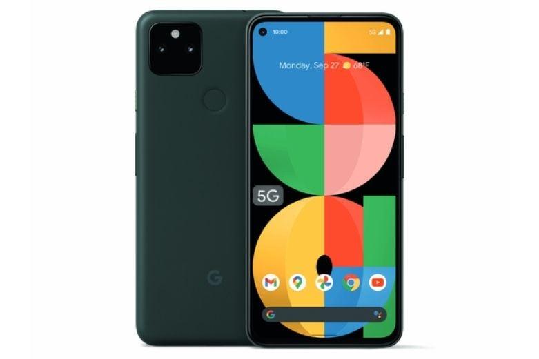 The Google Pixel 5a smartphone