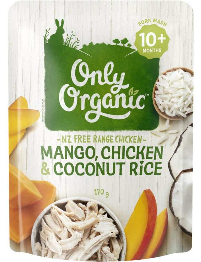 Only Organic baby food review