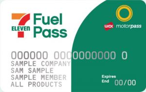 7-Eleven Fuel Pass Card