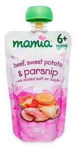 ALDI Mamia baby food