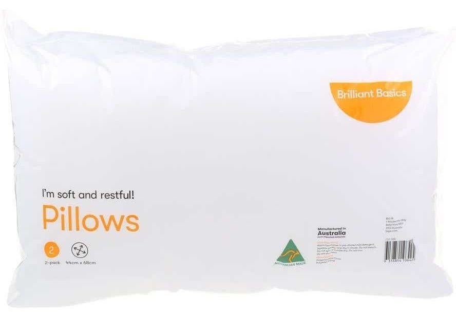 Big W pillow review