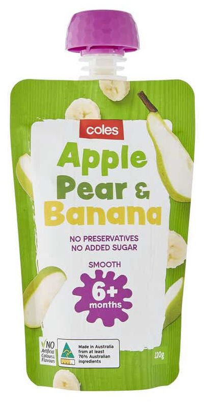 Coles baby food review