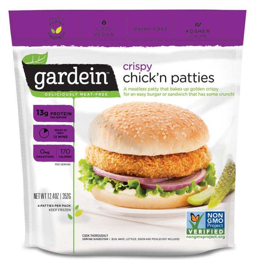 Gardein plant-based food