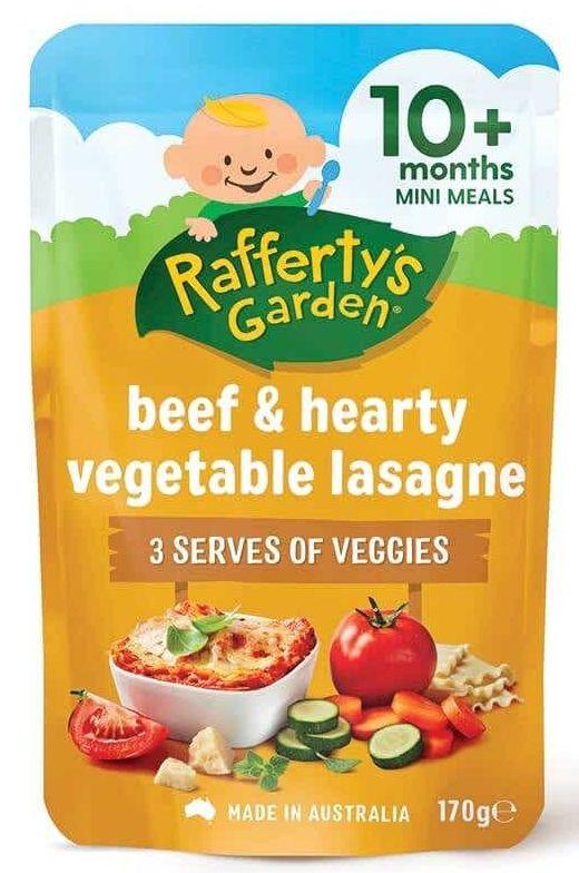 Rafferty's Garden baby food review