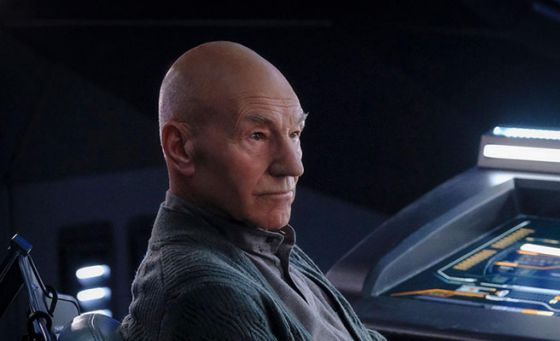 Still of Jean-Luc Picard from Star Trek Picard show