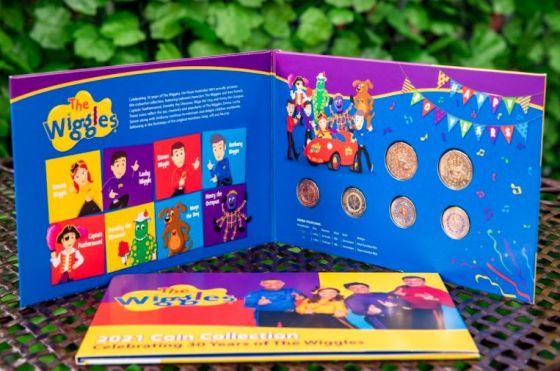Woolworths The Wiggles collectors' album