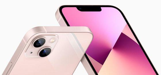 Pink iPhone 13 Mini