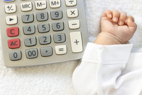 Babies blow out budgets