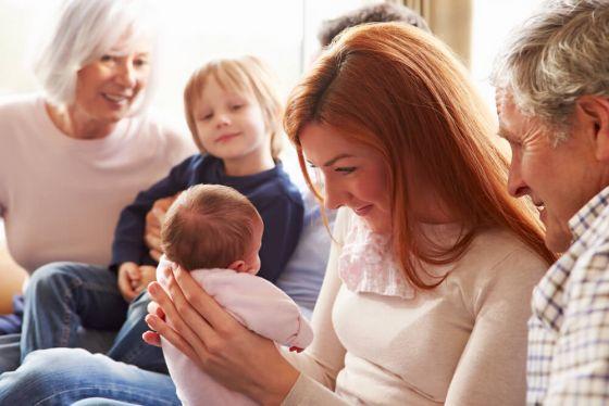 Babies, parents & grandparents