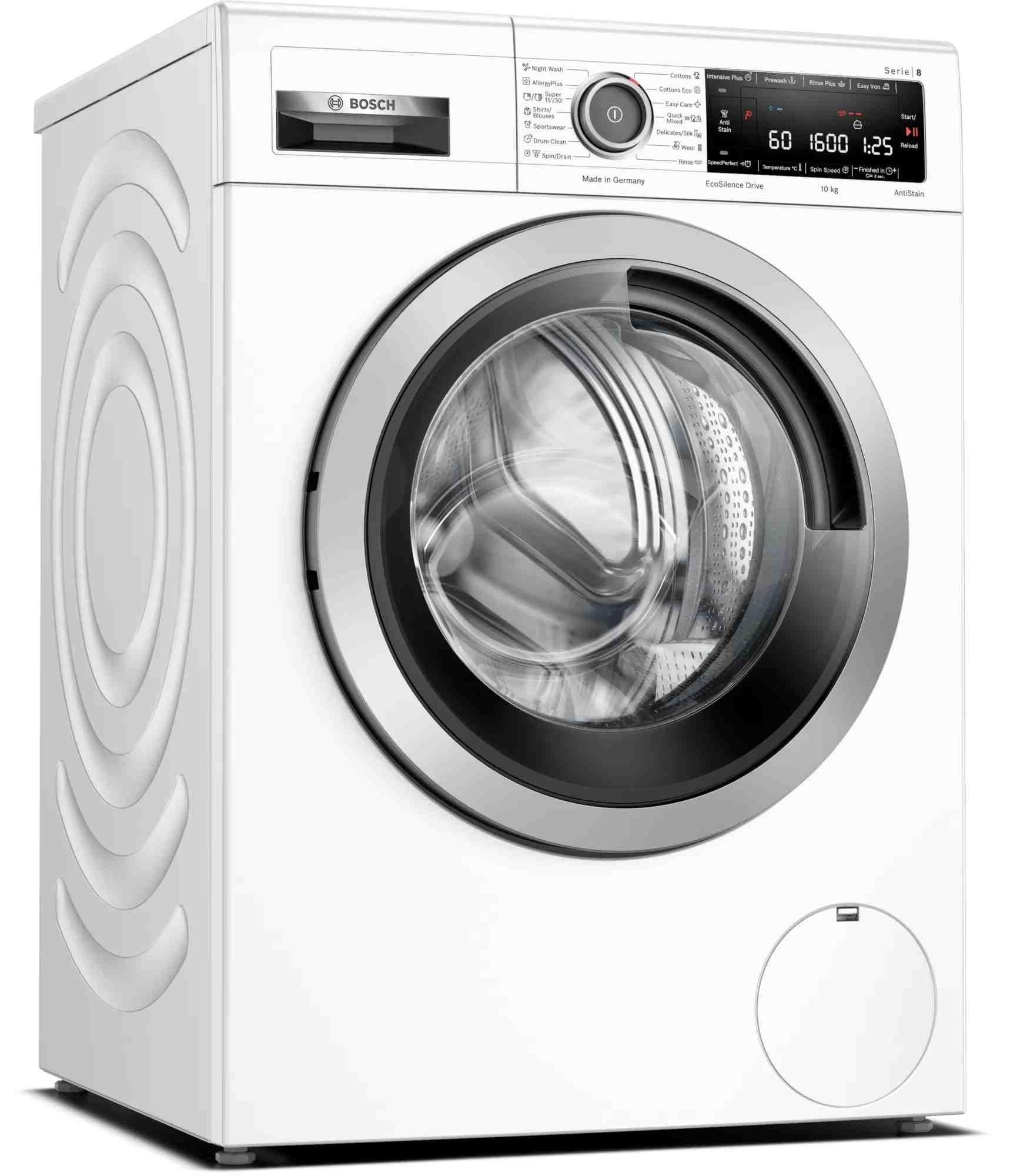 Bosch Serie 8 10kg Front Load Washing Machine