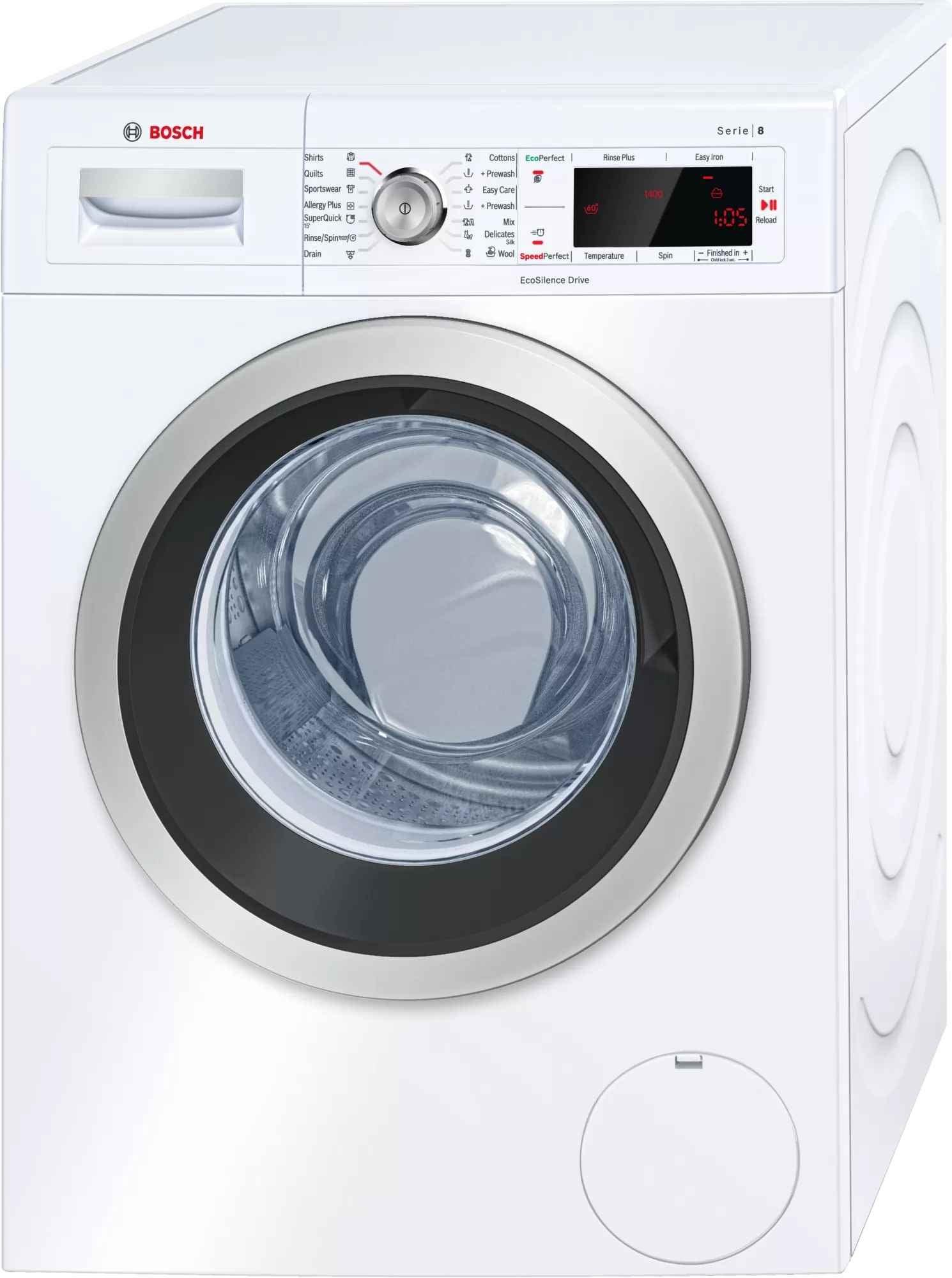 Bosch Serie 8 8kg Front Load Washing Machine
