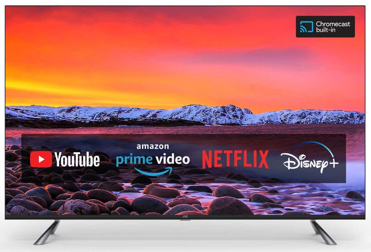 JVC 4K QLED UHD Smart TV