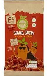 Macro Lentil Bites Carrot