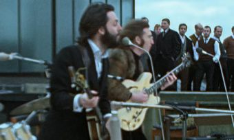 Still from The Beatles Get Back documentary