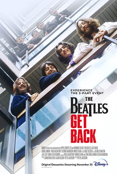 Poster from The Beatles: Get Back documentary
