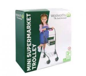 Woolworths Mini Supermarket Trolley Each