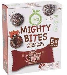 Macro Mighty Bites Cheeky Cocoa Balls