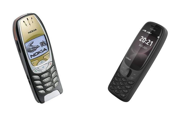 Nokia 6310 vecchio e nuovo Nokia 6310