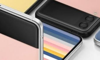 The Samsung Galaxy Z Flip 3 Bespoke Edition