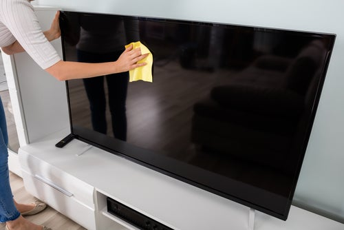 What's the best way to clean a TV?