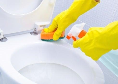 Cleaningtoilet