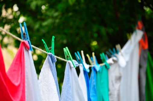 How to dry your clothes so they'll never need an iron