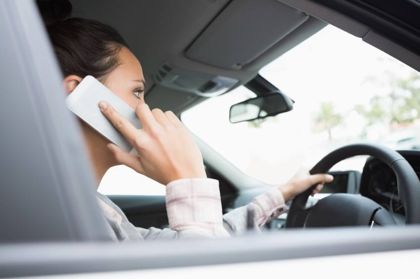 Driving on phone thumbnail