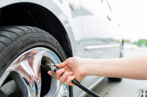 Do you check the air pressure in your car tyres?