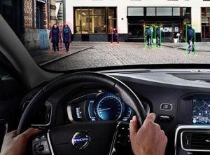 Volvo Pedestrian Tracker