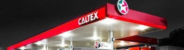 caltex banner