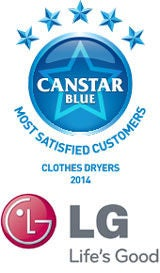 Clothes Dryers - 2014 Award Winner