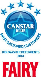 Most Satisfied Customers - Dishwasher Detergents, 2013