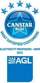 our 2012 most satisfied customers award for electricity providers ...