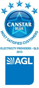 Most Satisfied Customers 2013: QLD Electricity Providers