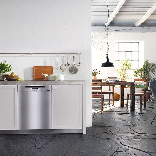 Miele oven in kitchen