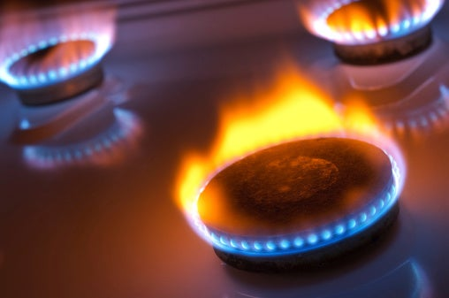 How to cook with gas