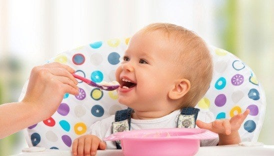 Gourmet food makes for happy babies
